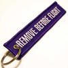 Remove Before Flight Purple
